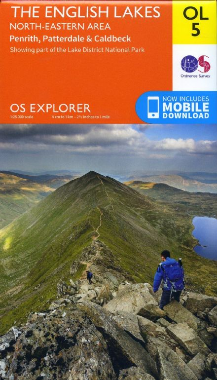 OS Explorer OL 05 The English Lakes - North Eastern Area